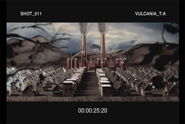 Previz for teaser VULCANIA film
