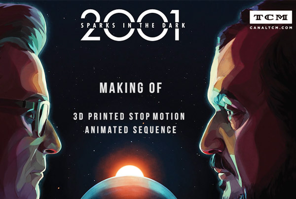 2001 Sparks in the dark – 3D Printing Making Of