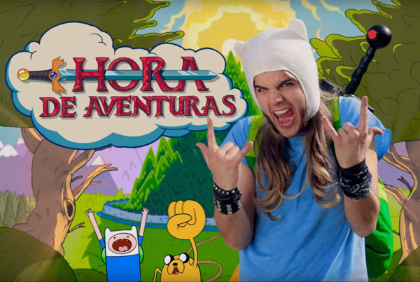 Adventure Time youtube promos