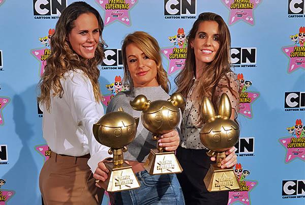 The Powerpuff Girls Awards 3D Print