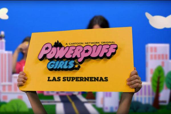 Spot The Powerpuff Girls Playset